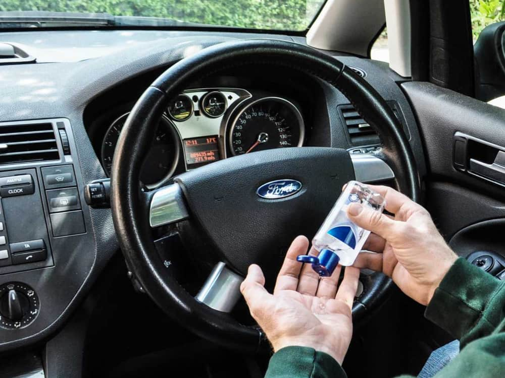 Ford, araç içi yüzeyleri koruma peşinde